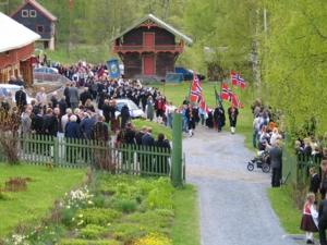 Barnetoget 17. mai på Aulestad