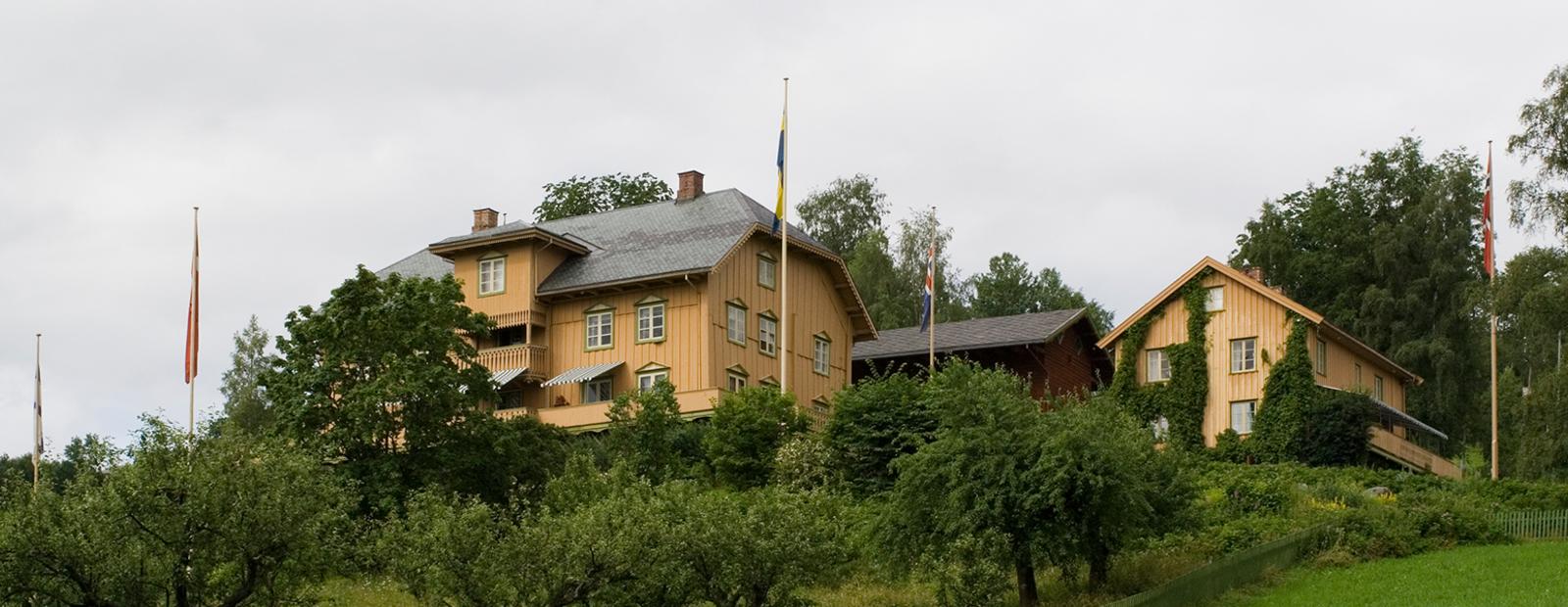 Aulestad, home of Bjørnstjerne Bjørnson.
